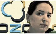 Ozon.ru CEO Maelle Gavet, Illustration by Alexander Agius